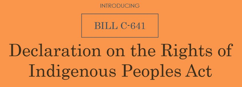 Declaration on the Rights of Indigenous Peoples Act