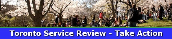 Toronto Service Review Banner